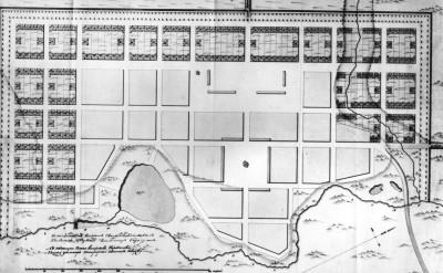 План Чембара начало 19 века - План Чембара 1820-ые.jpg