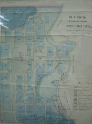 План Чембара середина 19 века - План Чембара 18472.jpg