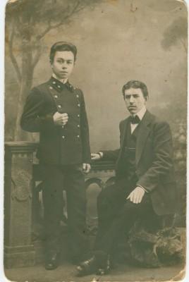 Чембарцы или люди как-то связанные с нашим городом и Чембарским уездом - Соколов СИ и кто-то 1912г оборот чистый фотостудия СМ.jpg